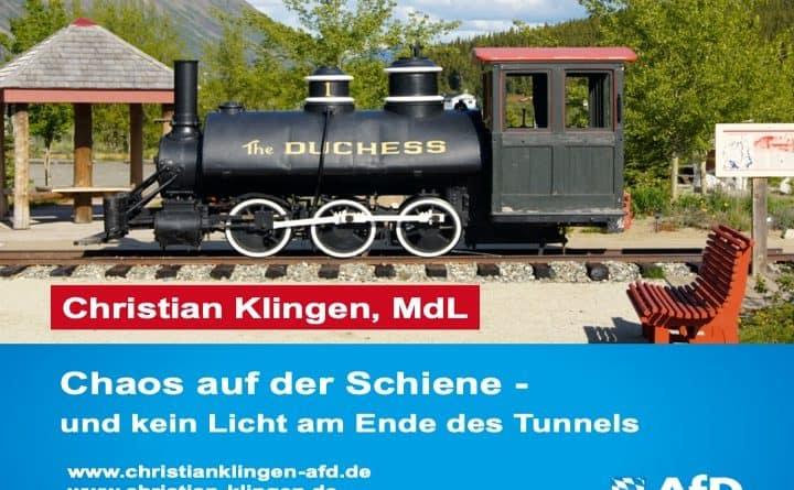 Chaos auf der Schiene – und kein Licht am Ende des Tunnels