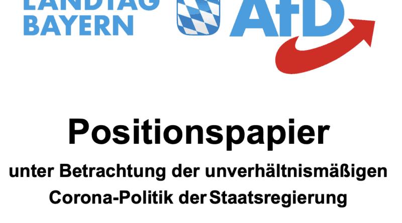 Positionspapier für das Jahr 2021