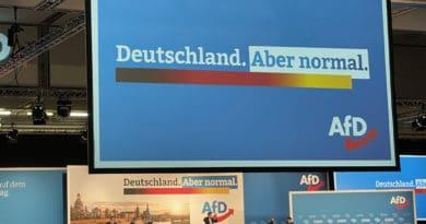 Bundesparteitag der AfD in Dresden