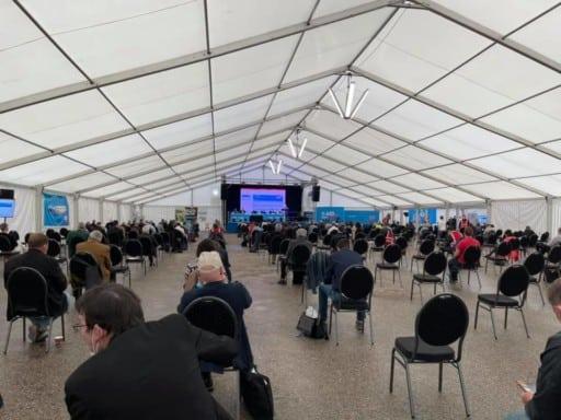 Impressionen von der AfD Bayern Aufstellungsversammlung in Greding vom Sonntag, den 6. Juni 2021