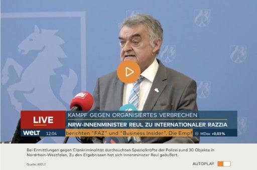 Screenshot WELT tv