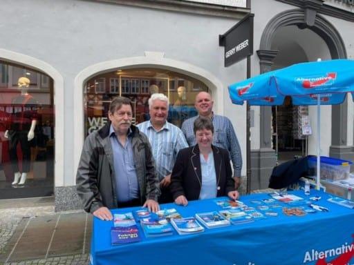 Infostand am 17.09.2021 in Kitzingen