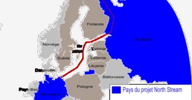 Projekt North Stream 2 - Boban Markovic, CC BY-SA 3.0 , via Wikimedia Commons