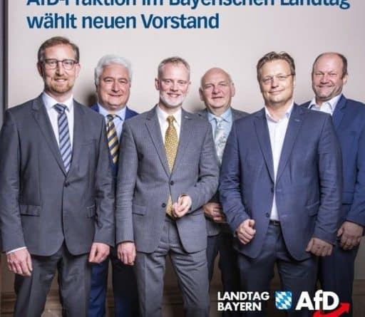 AfD-Fraktion im Bayerischen Landtag wählt neuen Vorstand